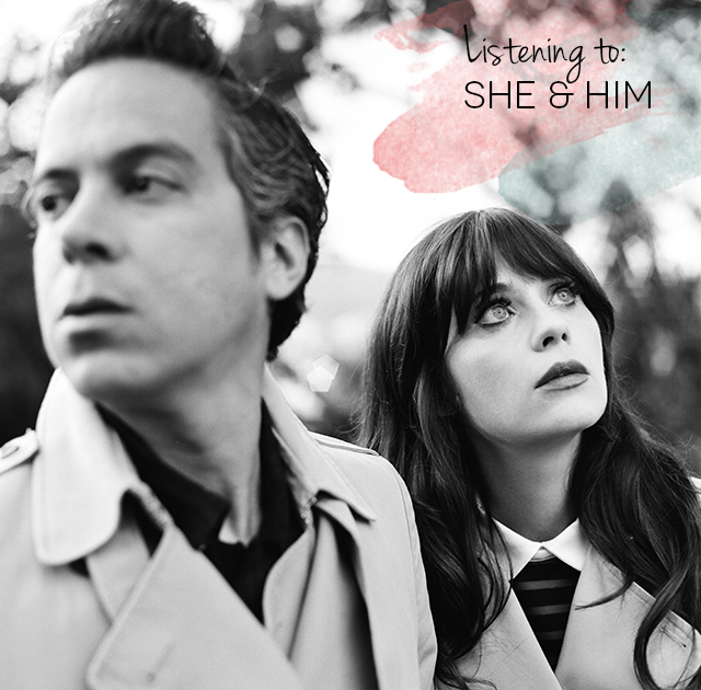 She & Him | nathalie.ie