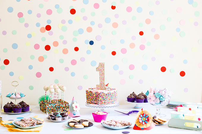 Polka dot party | nathalie.ie