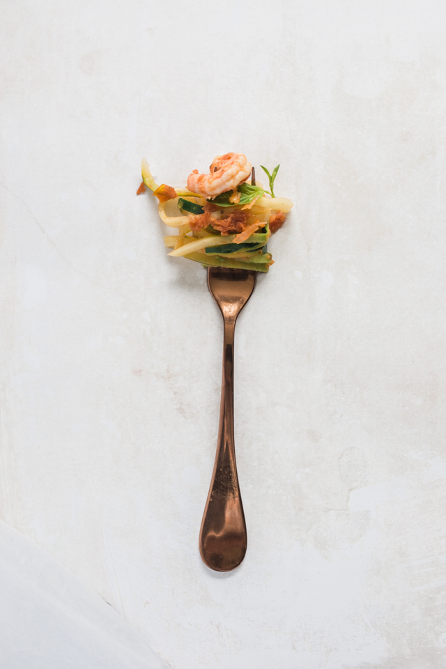 Clean + Comforting: The Little Green Spoon's sundried tomato courgetti recipe in image Interiors & Living | nathalie .ie