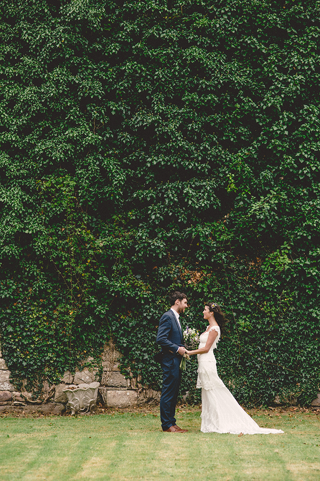 Michelle + Colm real wedding in the Bash Annual | nathalie.ie
