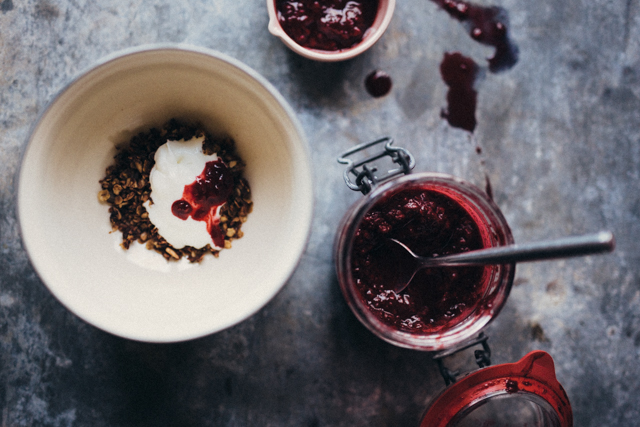 Spiced berry compote | nathalie.ie