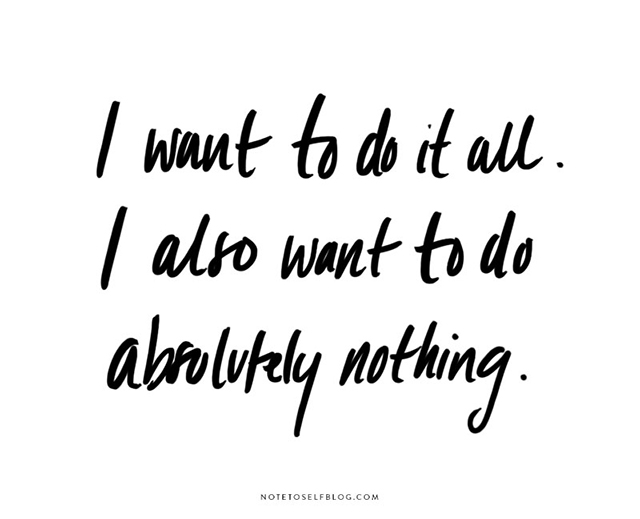 I want to do it all | nathalie.ie