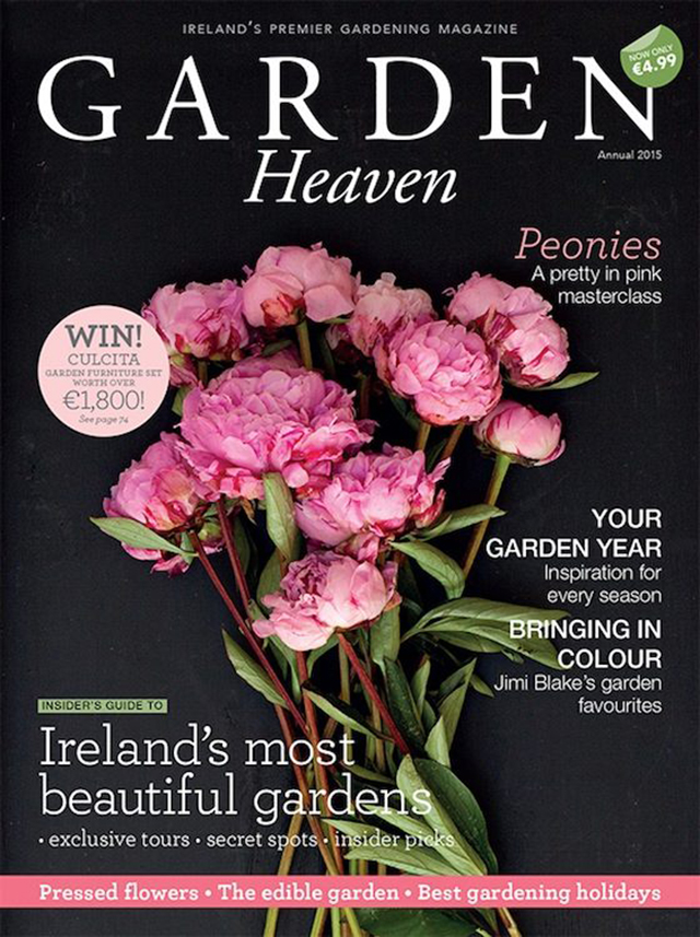 Recent work: Garden Heaven 2015 annual | nathalie.ie