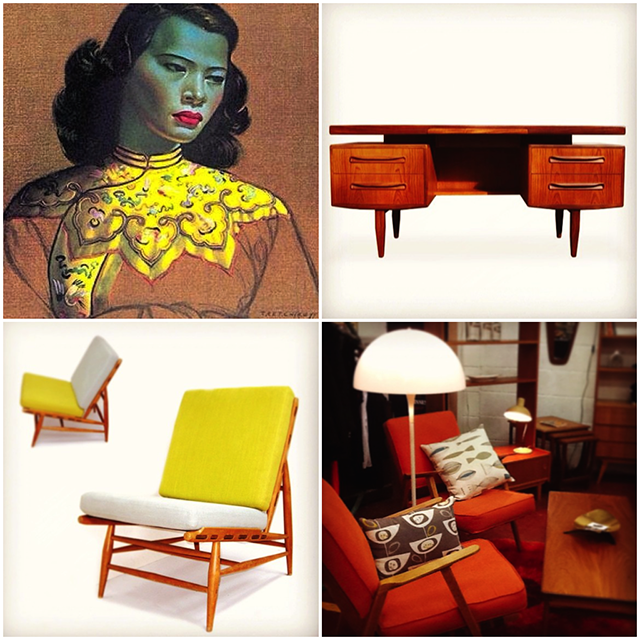 Where to find mid century furniture in Dublin | nathalie.ie