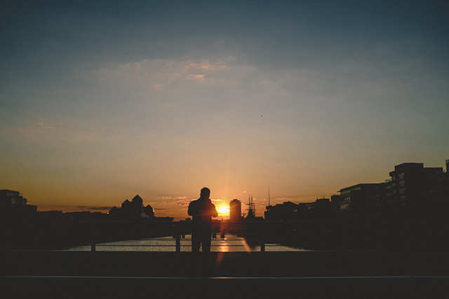Spring sunsets in Dublin | nathalie.ie