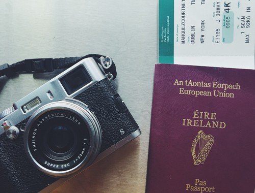 Travelling, camera in hand | nathalie.ie