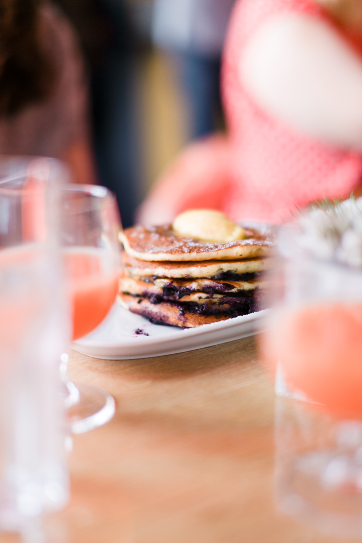 Pancakes at Herb Street, Grand Canal Dock | nathalie.ie