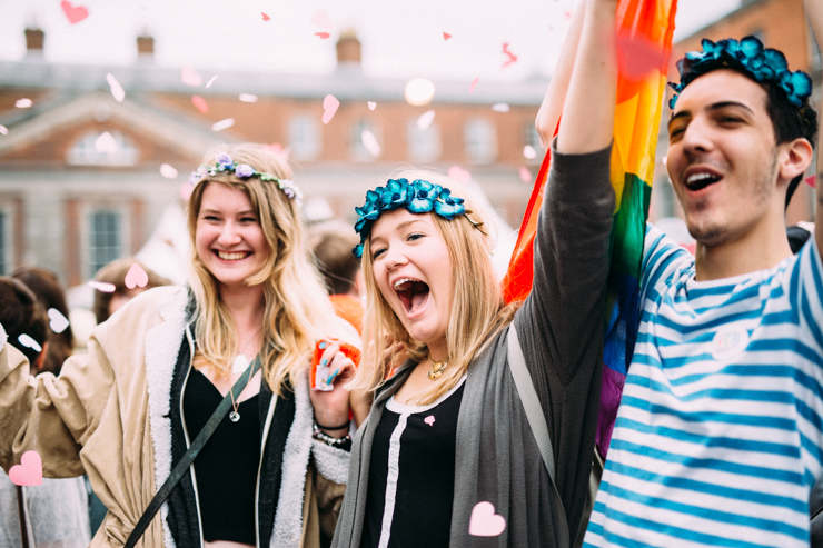 Yes Equality celebrations in Dublin | nathalie.ie