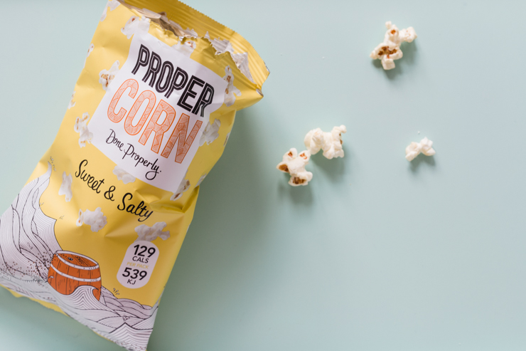 Sweet and Salty popcorn by Proper Corn | nathalie.ie