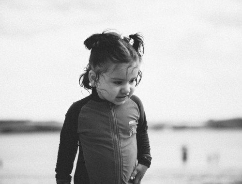 Kids on Kinsale Beach | nathalie.ie