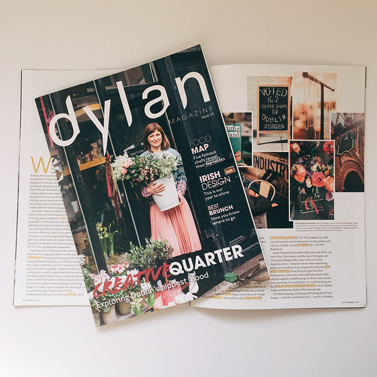 The Creative Quarter for Dylan Magazine | nathalie.ie