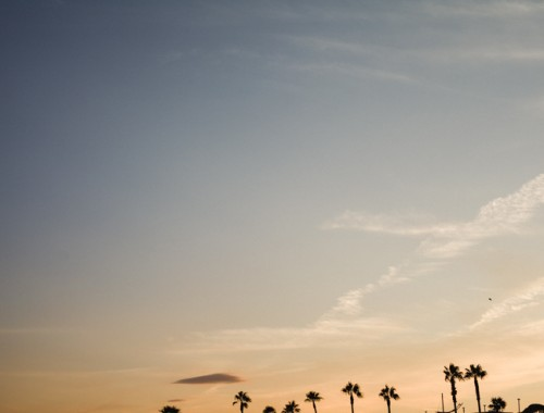 Cannes sunset | nathalie.ie