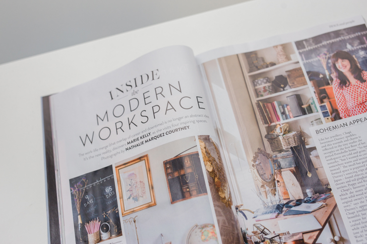 Workspaces shoot for IMAGE Magazine | nathalie.ie
