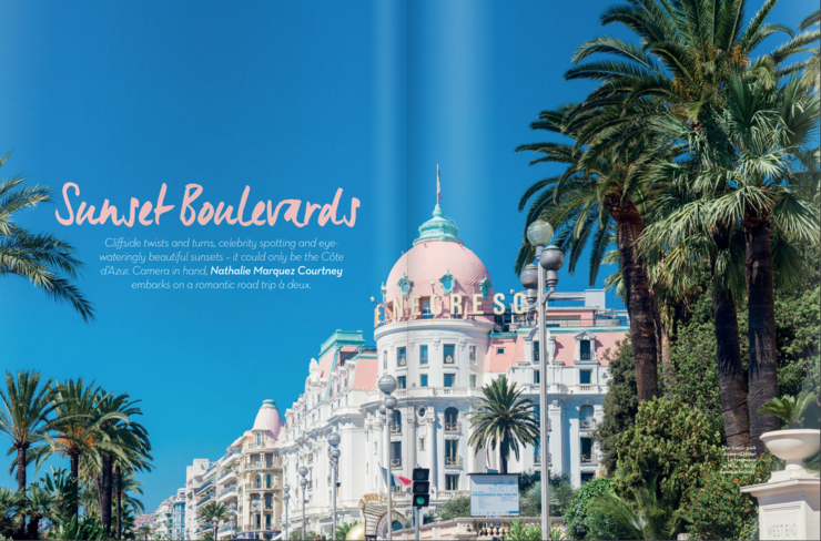 The French Riviera for Cara Magazine | nathalie.ie