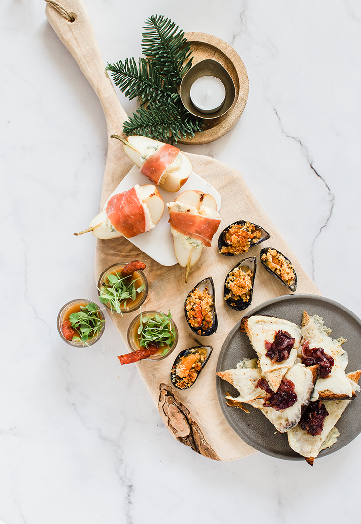 Christmas Canape Board | nathalie.ie