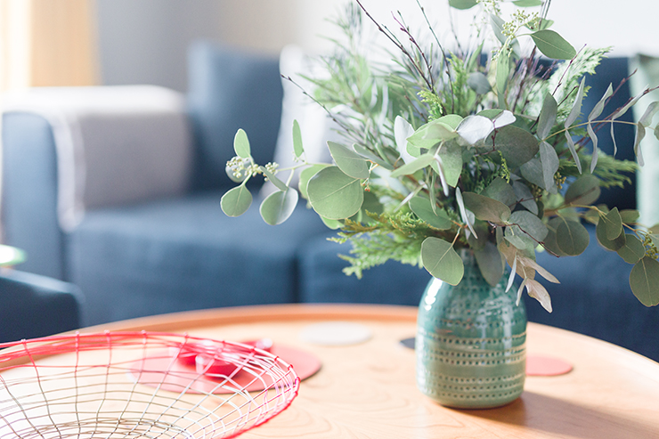 Beautiful winter foliage DIY | nathalie.ie