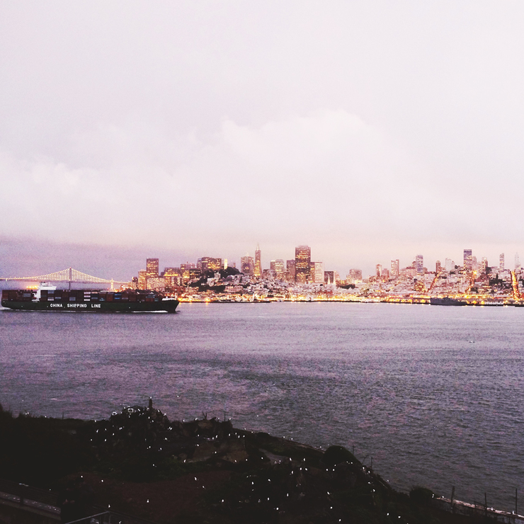 View from Alcatraz | nathalie.ie