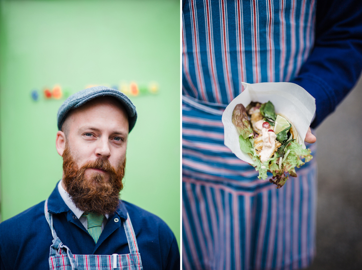 Gourmet Galway Guide | Eoin Coyle of gourmet streetfood trailer, Brother Rabbits | nathalie.ie