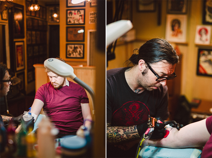 Getting Tattooed in San Francisco | nathalie.ie