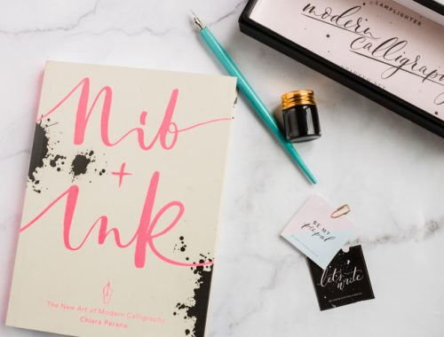 Learning Lettering: Tips and resources | nathalie.ie