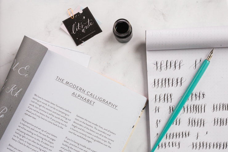 Learning Calligraphy: Tips and resources | nathalie.ie